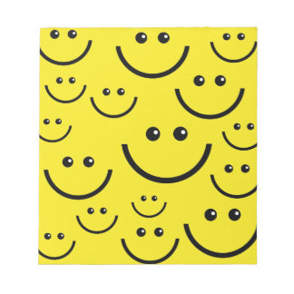 Smiley Faces Notepad