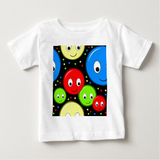 Smiley faces - pattern baby T-Shirt