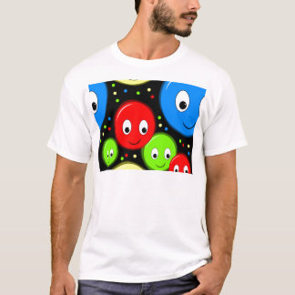 Smiley faces - pattern T-Shirt