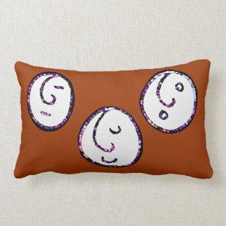 smiley faces pillow
