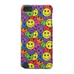 Smiley Faces Retro Hippy Pattern