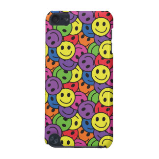 Smiley Faces Retro Hippy Pattern iPod Touch 5G Cover