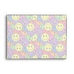 Smiley Faces Retro Hippy Pattern Envelope