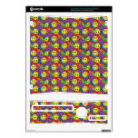 Smiley Faces Retro Hippy Pattern Xbox 360 S Decal