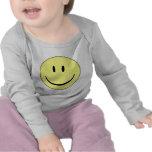 smiley feliz camiseta