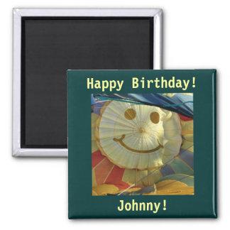 ¡Smiley, feliz cumpleaños! Iman Para Frigorífico