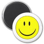 smiley feliz imán