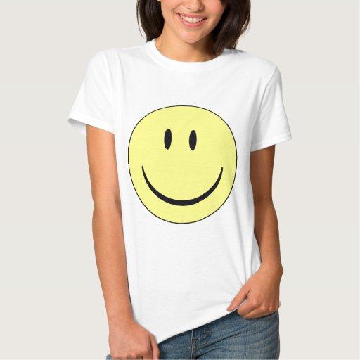 smiley feliz t-shirt