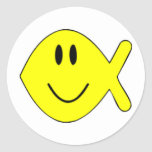 smiley fish 1 sticker