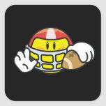 Smiley Football T-shirts and Gifts Sticker