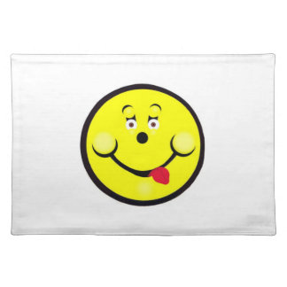 Smiley For Laughs Placemate Cloth Placemat
