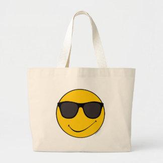 Smiley fresco de Joe Bolsa Tela Grande