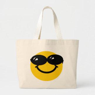 Smiley fresco del tipo bolsa tela grande