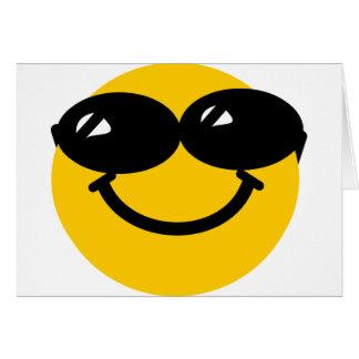 Smiley fresco del tipo tarjeta de felicitación