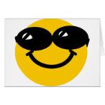 Smiley fresco del tipo tarjetón