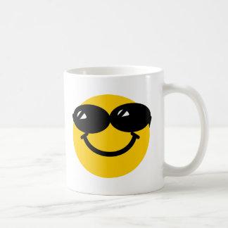 Smiley fresco del tipo taza básica blanca