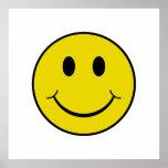 Smiley fresco impresiones