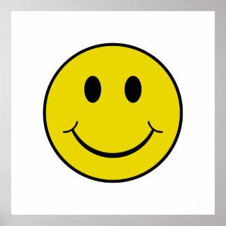 Smiley fresco póster
