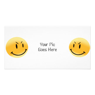 Smiley Friends - Photo Card