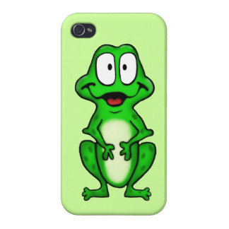 Smiley Frog Cover For iPhone 4