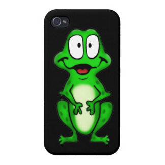 Smiley Frog iPhone 4 Case