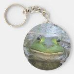 Smiley Frog Keychain