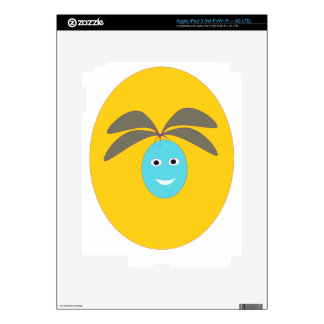smiley fruit decals for iPad 3