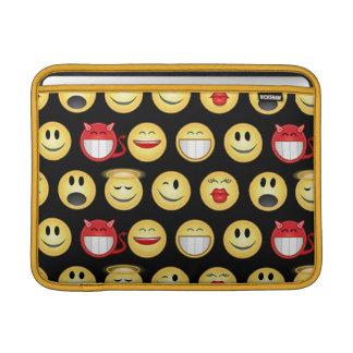 smiley funda macbook air