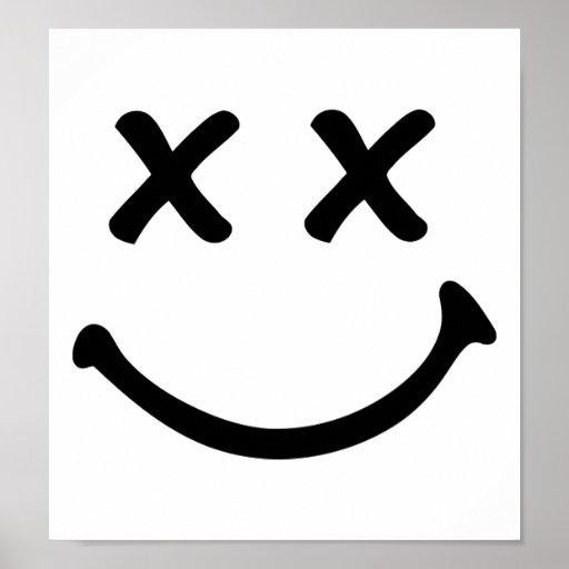 Smiley funny print