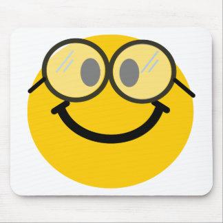 Smiley Geeky Alfombrilla De Ratones
