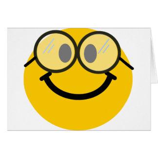 Smiley Geeky Felicitacion