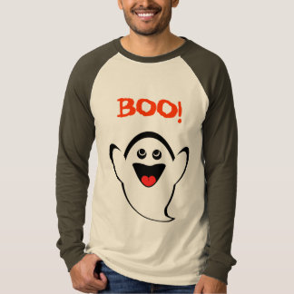 Smiley Ghost BOO! T-Shirt