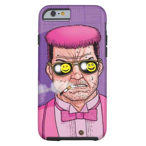 Smiley Glasses Punk Tuxedo Phone Case