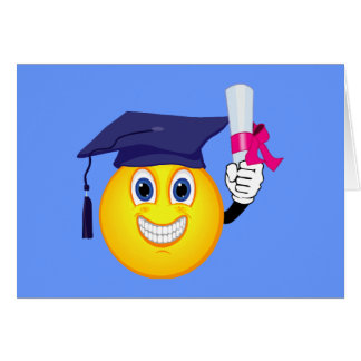 Smiley Graduate Card