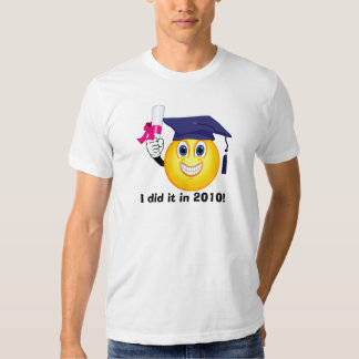 Smiley Graduate T-shirt