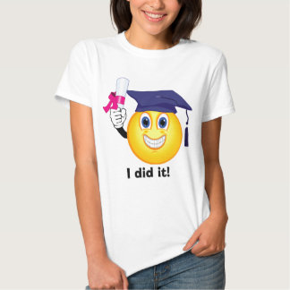 Smiley Graduate T Shirt