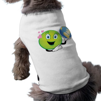 Smiley Green Planet Tee