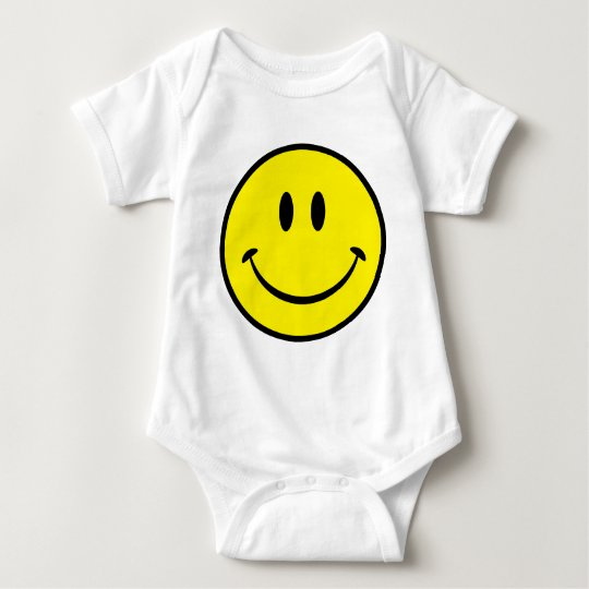 Smiley Happiness Face Baby Bodysuit