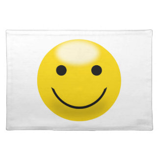 Smiley Happiness Face Placemat