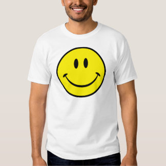 Smiley Happiness Face T Shirt