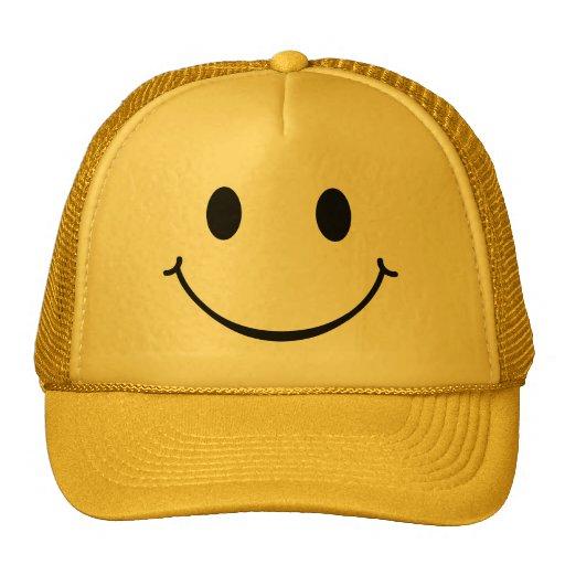 Smiley Happy Face hat