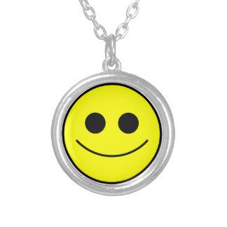 Smiley Happy Face Necklace