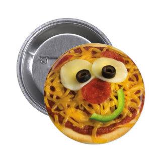 Smiley/Happy Face Pizza Button