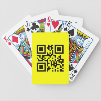 Smiley ☺ Happy Face -- QR Code Bicycle Playing Cards