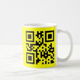 Smiley ☺ Happy Face -- QR Code Mugs
