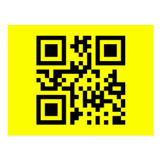 Smiley ☺ Happy Face -- QR Code Post Cards