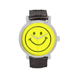 Smiley Happy Face Watch