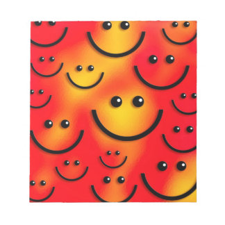Smiley Happy Smiley Face! Note Pads