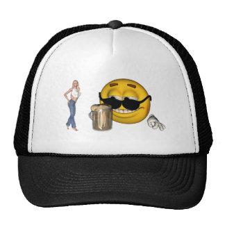 smiley hat1 trucker hat