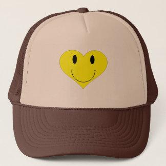Smiley Heart Face Trucker Hat